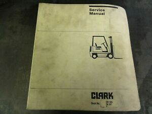 Clark Tm247 Forklift Service Manual