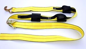 12 Over The Tire Car Hauler Truck Trailer Auto Tie Down Replacement Straps Wh