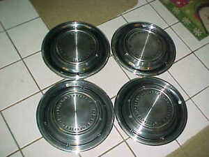 1969 Oldsmobile 14 Hubcaps F 85 Cutlass Vista Cruiser Olds 442 That 70 S Show