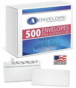 500 10 Security Envelopes Self Seal Windowless 4 1 8 X 9 1 2 A envelope