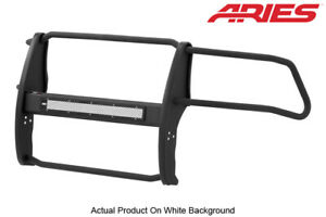 Aries Pro Series Textured Blk Grille Brush Guard For 10 18 Dodge Ram 2500 3500