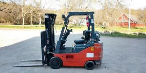 Nice 2010 Toyota 3700 Lb Lpg Forklift 8fgcsu20 Side Shift Rare Narrow Low Hr