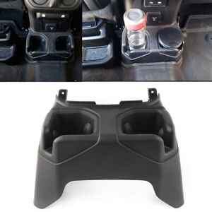 Car Console Cup Holder Rear Floor Fit For Jeep Wrangler Jl 2018 2019 6bn67tx7ac