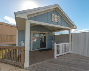 New Palm Harbor Waverly 1br 1ba 555 Sq Ft Modular Home fort Myers Florida