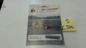 Mccormick International 2a Hay Conditioner Sales Brochure