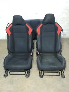 2013 Scion Frs Black Red Cloth Seats Front Rear Bench Set Assembly Oem 967