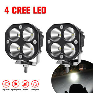 2x Cree Led Work Light Spot Lamp 50w Car Suv Motorcycle Offroad 4x4 Driving Lamp