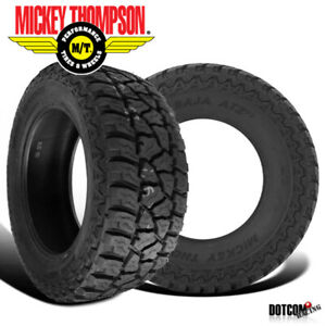 2 X New Mickey Thompson Baja Atz P3 Lt305 55r20 All terrain Smooth Tire