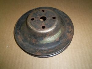 Water Pump Single Groove Pulley 62 72 Dart Duster Swinger Cuda Mopar 2202666