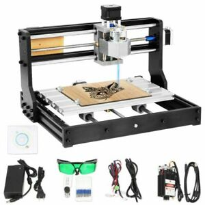 Cnc 3018 Pro Machine Router 3 Axis Engraving Wood Pcb Diy Mill 2500mw Laser Head