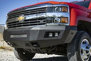 Rough Country Chevy Heavy duty Front Led Bumper For 15 19 2500hd 3500hd 10782