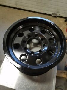 16 Inch Black Wheel Rim American Racing Atx 16x8 8x6 5 Lug Used Ar172 Baja