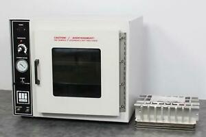 Barnstead Lab line 3618 Tabletop Vacuum Chamber Lab Oven With Shelves