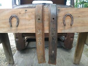 1939 1940 G M C Chevy Large Truck Front Pair Fender Braces Lh And Rh