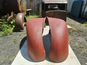 1941 1946 Chevy G m c Large Truck Front Fenders