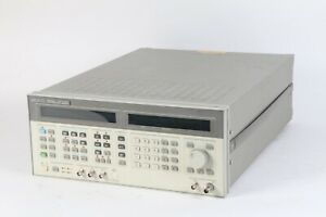 Hp 8643a Synthesized Signal Generator 0 26 2060 Mhz W Opt 001 Fair Cond