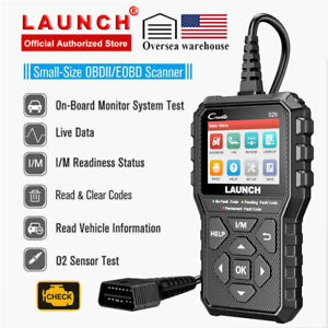 Check Engine Light Emission Test Eobd Obd2 Scanner Code Reader As Foxwell Nt301