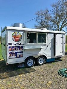 2019 Class 4 8 5 X 16 Mobile Kitchen Lightly Used Food Concession Trailer