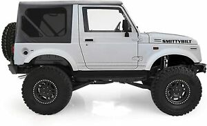 Tinted Smittybilt Oem Soft Top Black Zip Out Windows 86 94 Suzuki Samurai 98515