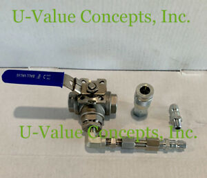 Foam Transfer Pump b side Open Cell close Cell Stainless Steel Switchover Kit