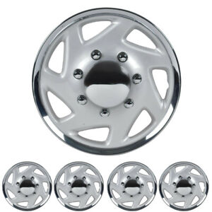 Carxs Kt 317 16c For Ford 16 Chrome Finish Replica Hubcaps Wheel Cover Set Of 4