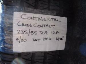 1 Used Continental Crosscontact Lx Sport 235 35 19 101h 6 32 Tire