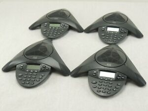 Lot Of Four Cisco Cp 7936 Unified Conference Station Telephone Ip Phone tested