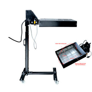 Automatic Screen Printing Flash Dryer Photoelectric Sensor Switch 1600w Movable