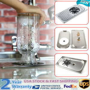 Automatic Stainless Steel Cup Washer Glass Rinser Coffee Milk Tea Bar Washing Us