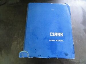 Clark C120 Forklift Parts Manual