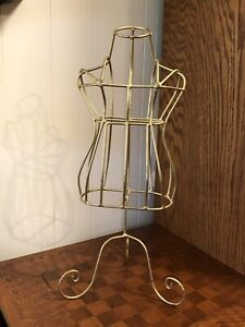 Counter Top Metal Mannequin For Decor 19