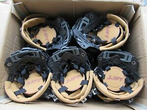 Lot Of 50x Lift Safety Dax Hard Hat Ratchet Replacement Suspension