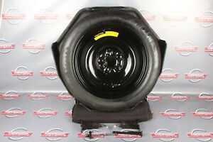 C4 Corvette Oem Spare Tire Xdx K196 With Carrier And Hardware 1996 84 96