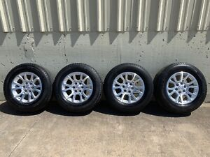 Oem Gmc Yukon Wheels And Tires 18 Inch Michelin Sierra Used Tires Good Tread