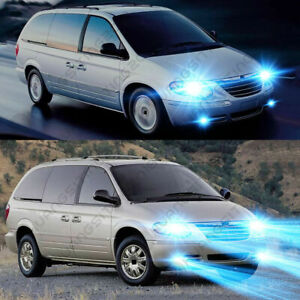 For Chrysler Town Country 2005 2007 4x 8000k Led Headlight Fog Light Bulbs