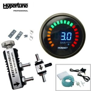 In Cabin Boost Controller 1 30 Psi 2 52mm Turbo Boost Gauge Bar With Sensor