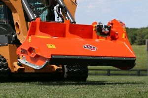 Lipa Tlb f 140 Flail Mower Shredder Mulcher For Smaller Skid Steer Loader
