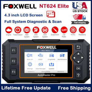 Foxwell Obdii Scanner Oil Epb Reset Abs Srs Sas Full System Auto Diagnostic Tool