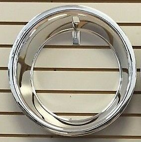 15 2 5 Chrome Stainless Steel Smooth Edge Trim Ring Fits 15x7 Wheels