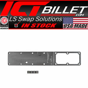 Billet High Flow Intake Manifold Plenum Plate 6 7l Cummins Grid Heater