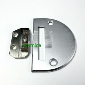 Fits Consew 206rb Needle Plate And Feed Dog Set 18030 18031