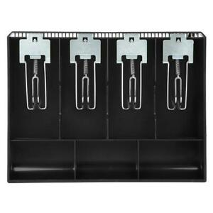 Cash Register Drawer Insert Tray With 4 Bill 4 Coin Compartments For Money