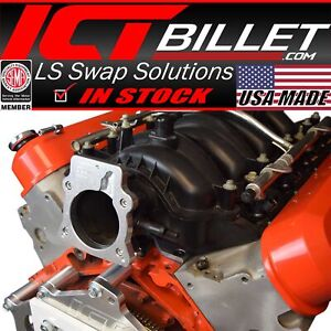Ls4 Only Intake Manifold To Ls 3 Bolt Throttle Body Ls1 Dbw Dbc Adapter
