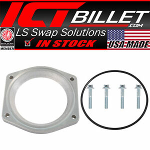 Gen 5 103mm Throttle Body Adapter Plate To Lt1 Intake Manifold Or Lt4 Sc