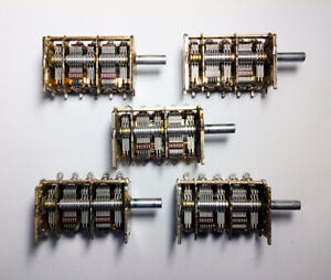 5x Alps Variable Capacitor 20 360pf For Fm Am Sw Crystal Radio via Dhl Express