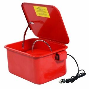 3 5 Gallon Parts Washer Cleaner Portable Compact Electric Solvent Pump