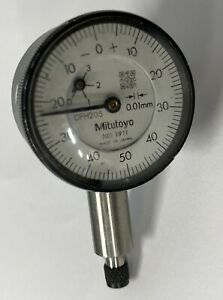 Mitutoyo 1911 Dial Indicator Series 0 compact Type Lug Back 0 2 5mm 0 01mm
