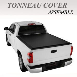 Assemble Lock Tri Fold Soft Tonneau Cover Fit 1997 2003 Ford F150 6 5ft 78in Bed