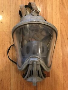 Msa Ultra Elite Respirator Mask Size Medium Used