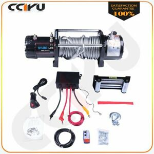 Fit 1989 2019 Jeep 9500lb Electric Winch 8 5mm